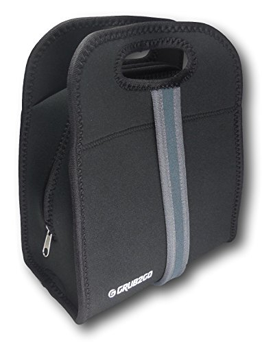neoprene lunch bag by grub2go compatible with most lunch. Black Bedroom Furniture Sets. Home Design Ideas