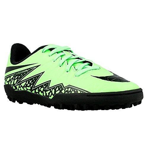 Nike - JR Hypervenom Phelon II - 749922307 - Couleur: Noir-Vert clair - Pointure: 29.5