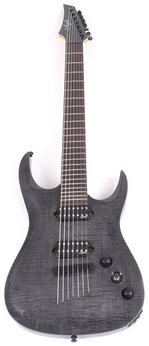 Agile Septor 725 Rn Cp Black Flame 7 String Electric Guitar