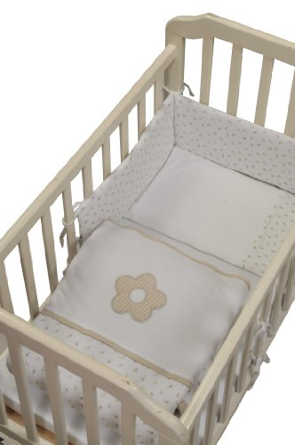 Minene Classic Bedding Bundle (Cream Flowers)