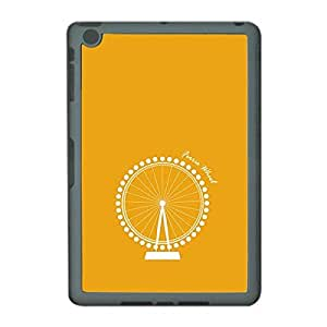 Skin4gadgets Iconic Wonder Ferris Wheel Colour - Gold Tablet Designer SMART CASE for IPAD MINI2