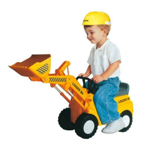 kinderbagger micro loader m4 radlader mit helm elektrisch. Black Bedroom Furniture Sets. Home Design Ideas
