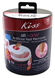 Kiss All Or 1 Artificial Nail Remover Pack Of 2