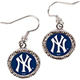 MLB New York Yankees Round Earrings, Large, Multi