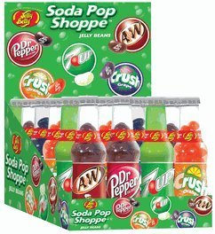 Jelly Belly Soda Bottles 24CT Box (Pepsi Jelly Beans compare prices)