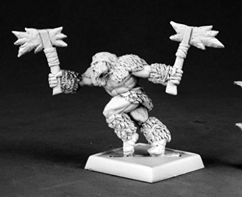 Barbarian Berserker of Icingstead Worlord Series Miniatures