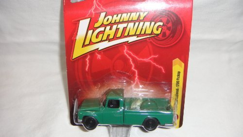JOHNNY LIGHTNING R26 GREEN 1965 INTERNATIONAL 1200 PICKUP DIE-CAST COLLECTIBLE