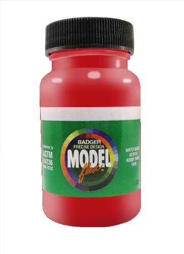 badger-air-brush-co-2-ounce-modelflex-railroad-airbrush-ready-water-based-acrylic-paint-amtrak-red