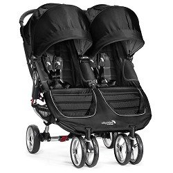 Baby Jogger City Mini Double Stroller, Black Gray by BaJogger