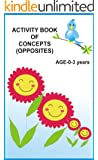 Activity Book of Concepts and Opposites (English Edition)
