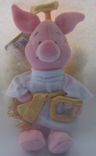 "Disney Bean Bag Plush Choir Angel Piglet 8"" - 1"