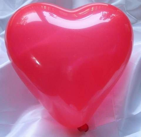 50 große Herzluftballons, rot -18816-