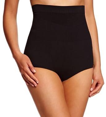 Trinny & Susannah Women's Tummy Flattening Bikini Brief Black 523-18-902-S Small