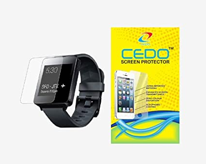 CEDO-Round-edge-2.5-D-Tempered-glass-for-LG-Watch-W100-smartwatch-(Watch-not-Included)