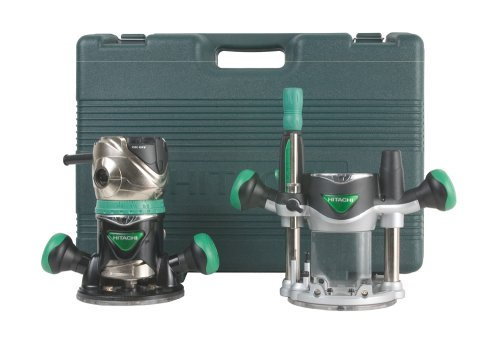 Bosch 1617EVSPK 12 Amp 2-1//4-Horsepower Plunge and Fixed Base Variable Speed Router Kit with 1//4-Inch and 1//2-Inch Collets