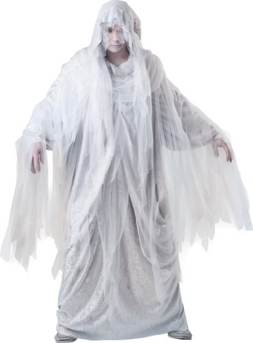 InCharacter Costumes, LLC Haunting Spirit, White/Grey, X-Large