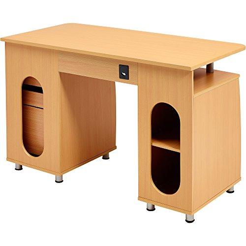 Schreibtisch buche hell com forafrica for Buche schreibtischplatte