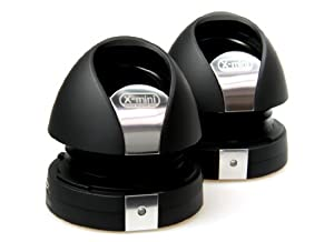 X-Mini MAX II XAM7-B Portable Capsule Speakers, Black