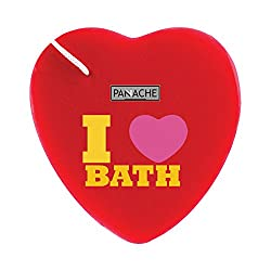 PANACHE I Love Bath Sponge, Bath Loofah, Health & Personal Care, Bath & Shower, Bathing Accessories, Sponges.
