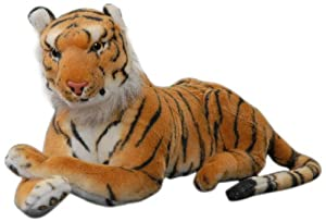 Play n Pets PNP-502 Tiger 35cm, Brown
