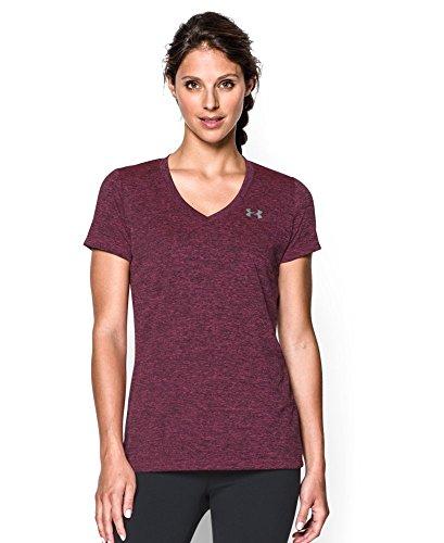 Under Armour Women S Tech Short Sleeve Dope Dye T Shirt
