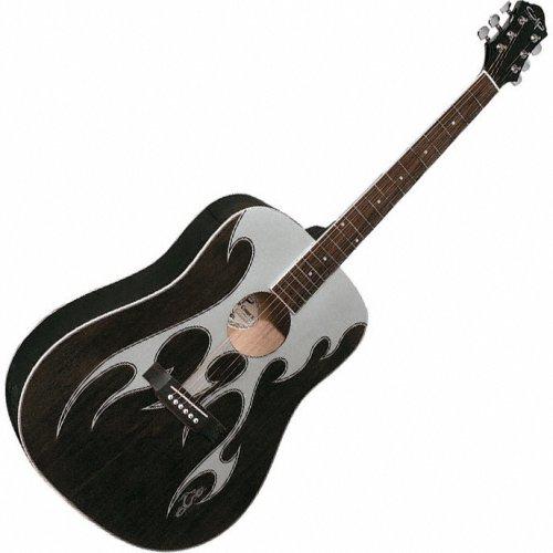 Amazon.com: OLP Guitars Orange County Choppers Acoustic Guitar