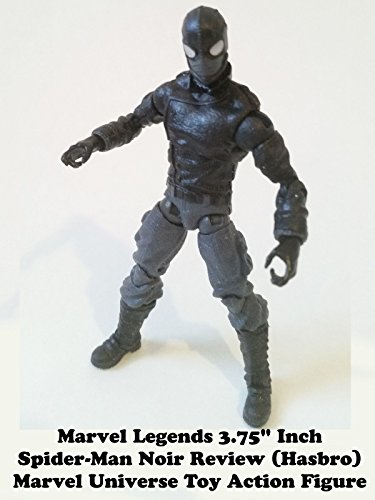 "Marvel Legends 3.75"" Inch SPIDER-MAN NOIR review (Hasbro) Marvel Universe toy action figure"