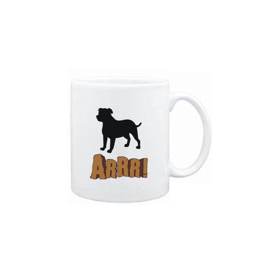 Mug White  English Mastiff  ARRRRR  Dogs