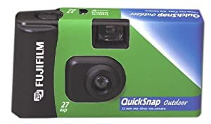 Fujifilm Quick Snap Outdoor 35mm Single Use Camera