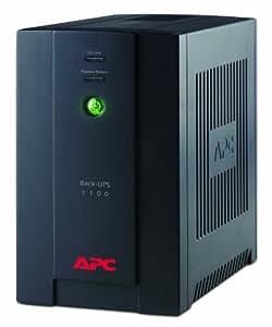 APC Back-UPS BX - Unterbrechungsfreie Stromversorgung 1100VA, - BX1100CI-GR - AVR, 4 Schuko outlets, USB, Shutdown Software