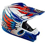 Troy Lee Designs SE3 Speedwing Helmet - Medium/Blue