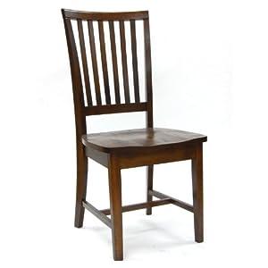 Carolina Classic Hudson Dining Chair, Chestnut