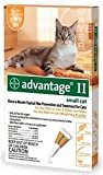 Bayer Advantage II, Small Cat, 5 to 9-Pound, 6-Month