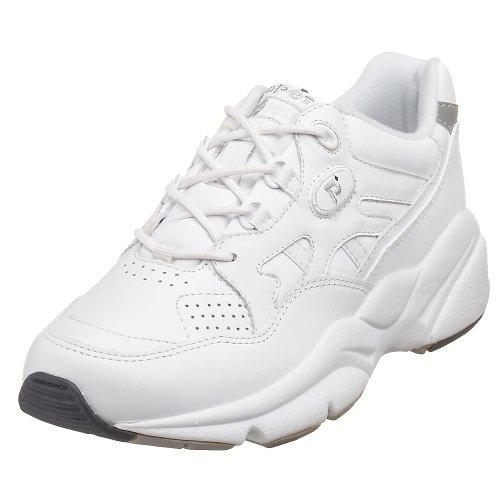 Propet Women's W2034 Stability Walker Sneaker,White,7.5 W (US Women's 7.5 D)