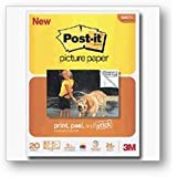 Post-it 8-1/2 x 11 Picture Paper, Matte Finish, 20 Sheets/Pack