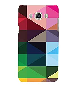 PrintVisa Digital Art Pattern 3D Hard Polycarbonate Designer Back Case Cover for SAMSUNG GALAXY J5 2016 Edition
