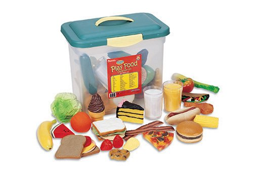 Learning Resources Classroom Play Food Set (set Of 80)