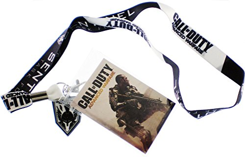 Call of Duty Advanced Warfare Sentinel Lanyard ID Badge Holder NWT (Advanced Warfare Key compare prices)