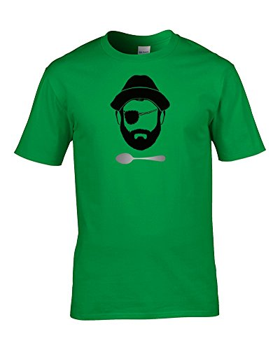 Ice-Tees - Top - Colletto crew  - Maniche corte - Uomo Verde irlandese XX-Large