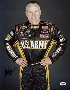 Autographed Mark Martin Picture - 11x14 #u23561 - PSA DNA Certified - Autographed... by Sports Memorabilia