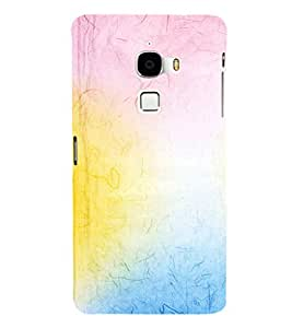 EPICCASE rainbow colors Mobile Back Case Cover For LeTV Le Max (Designer Case)