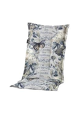 Sesselauflage hoch Malta grey von Madison - Gartenmöbel von Du und Dein Garten