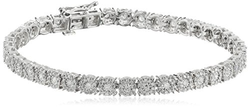 14k-Round-Diamond-White-Gold-Tennis-Bangle-Bracelet-2cttw-I-J-Color-I2-I3-Clarity-7