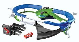 Disney Cars Stunt Racers Double Decker Speedway