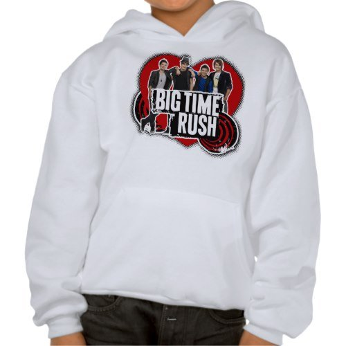 Big Time Rush: Heart Cast Hoodie - Youth