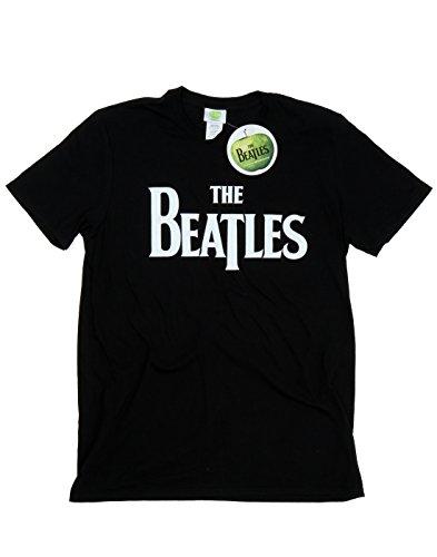 The Beatles Bambini e ragazzi Drop T Logo Maglietta 9-11 Years Nero