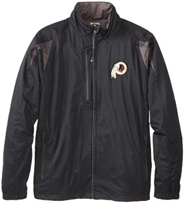 NFL Men's Washington Redskins Desert Dry Full Zip Jacket