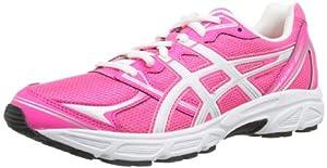 Asics Patriot 6 - Zapatillas de running para mujer, color rosa / blanco / plata, talla 40