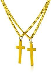 DSQUARED2 Men's Ottone Giallo Necklace, Yellow, One Size