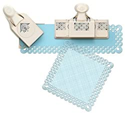 Martha Stewart Crafts Punch Around The Page Large Combo, Double Arches